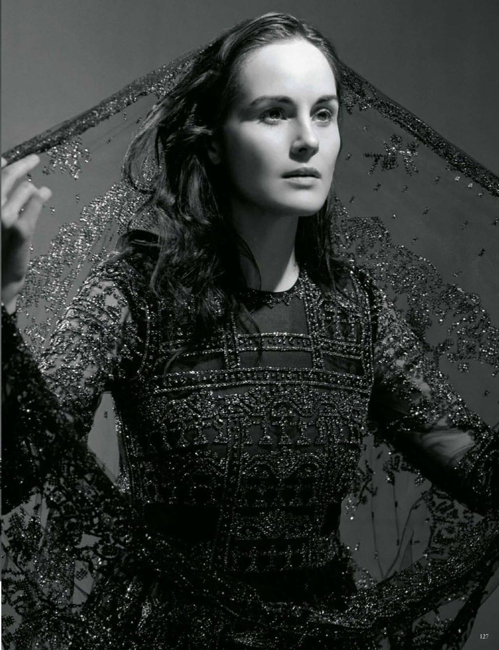Michelle Dockery photographed by Bruce Weber for Vogue Germany, January 2013