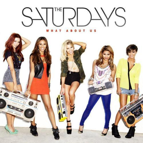 prettys-just-a-pretty-wordx:   The Saturdays + 'What About Us'