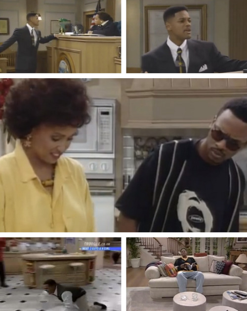 Video: 5 Times Fresh Prince Broke the Fourth Wall [Click to watch all] It's hard to ignore a completely new mother or no ceiling every once in a while.