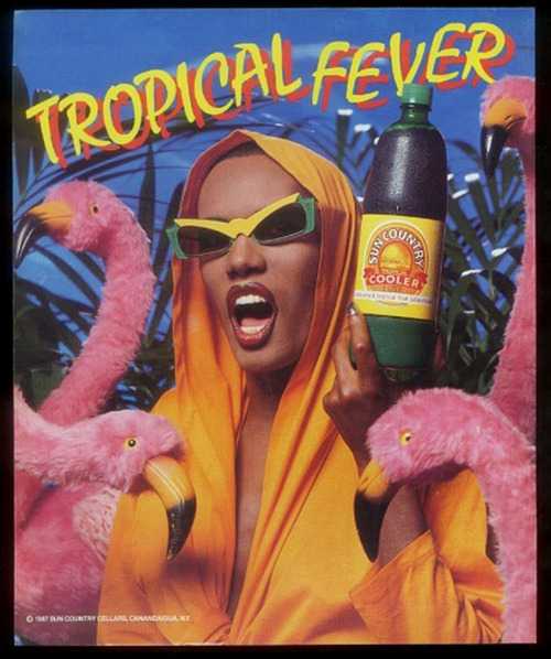 jockohomo:  Tropical Grace In Your Face  I remember this ad!