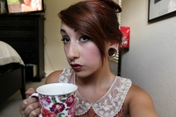 Uh hi I'm Briana and I drink tea a lot
