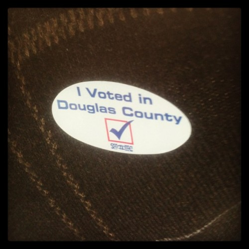 Voted! Have you?