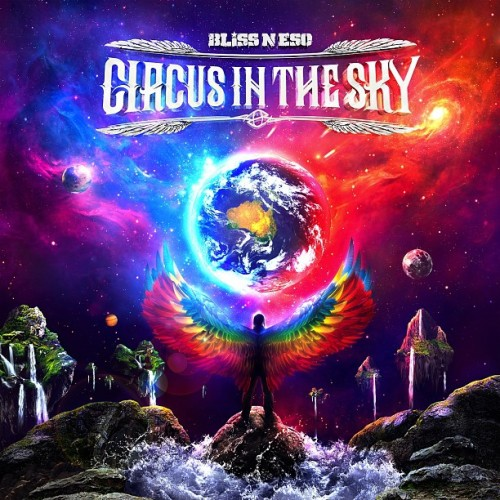 "Stoked to release the final cover art for Bliss n Eso's new album ""Circus In The Sky""!"