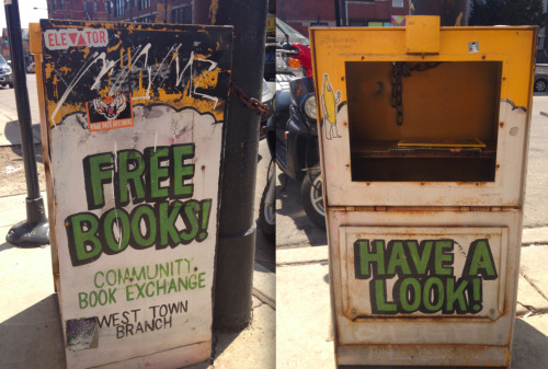 Community Book Exchange In Chicago