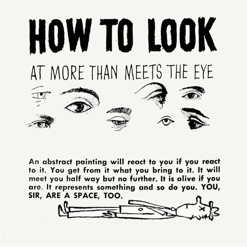 nevver:  How to look at Art