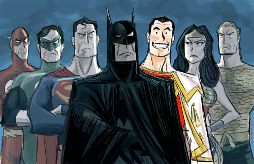 lulubonanza:  Justice League by *BobbyRubio