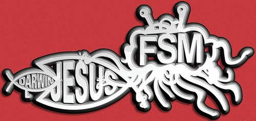 skepticalavenger:  confrontingbabble-on:  Fear FSM!!  Fear him.  He is love.  :)