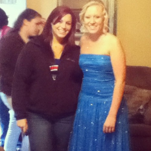 @shelby_kissel first prom!! I feel so old!