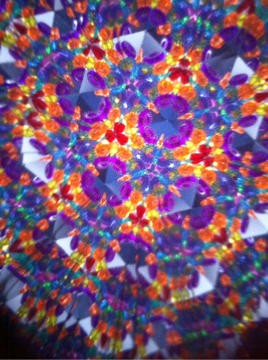 Today my boyfriend bought me a kaleidoscope.