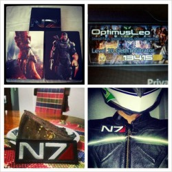 Happy birthday @masseffect 3! #masseffect #shepard #me3 #gaming #geek #nerd #instagamers #instagaming #videogame #xbox #pc #ps3 #N7 #bioware