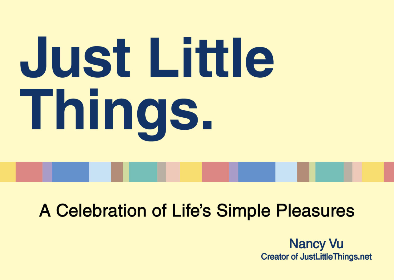 Pre-order your Just Little Things book today! There's only one month left to pre-order one and participate in the raffle! (The book makes a great Mother's Day gift.) Don't miss out! Amazon Barnes & Noble