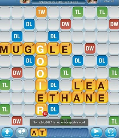 Zynga obviously needs to update their vocabulary because this is SO A WORD.
