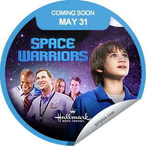 I just unlocked the Space Warriors Coming Soon sticker on GetGlue                      1732 others have also unlocked the Space Warriors Coming Soon sticker on GetGlue.com                  Walmart and P&G present Walden Family Theater' with 'Space Warriors,' a Hallmark Channel Original Movie World Premiere Friday, May 31 (8p.m. ET/PT, 7C), starring four-time Emmy® nominee Danny Glover. Share this one proudly. It's from our friends at Hallmark Channel.