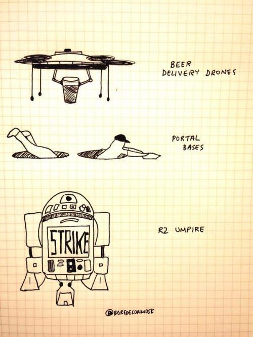 """""""Technical upgrades for a less boring baseball season."""" - @BoredElonMusk"""