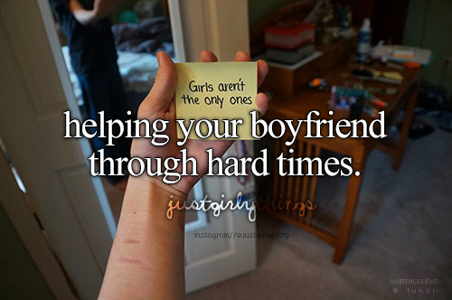 justgirlythings:  We must never forget that guys suffer, too. ♥ Photo credit: worthlesswbu