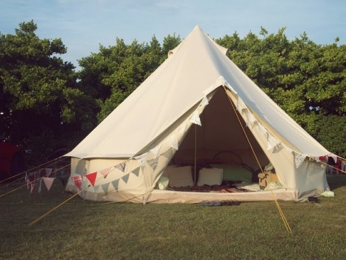 Wedding tent for honeymoon?! Amazing.