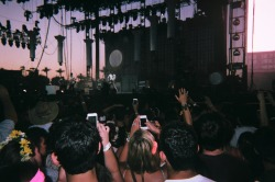 sfmola:  vampire weekend at sunset