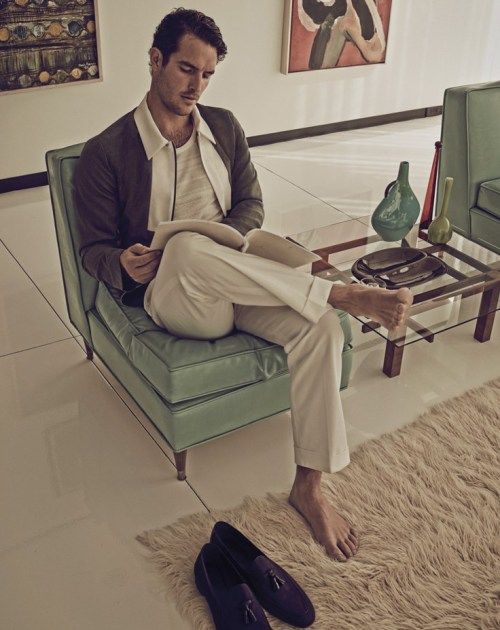 Justice Joslin by Mariano Vivanco | Man of the World