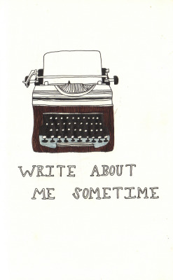 hellanne:  write about me sometime (by heartparade)