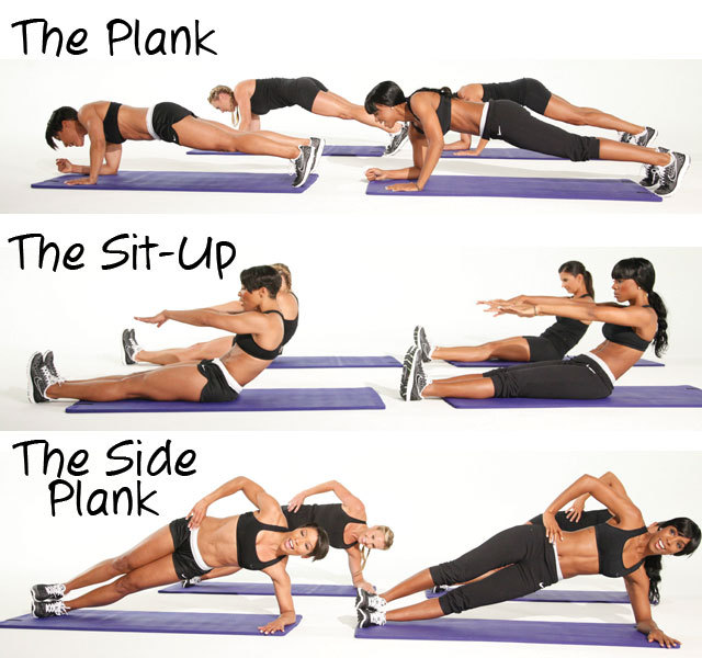 teaaddictedgeek:  These are fab core and ab workouts, plus the plank poses help to work on those delts!