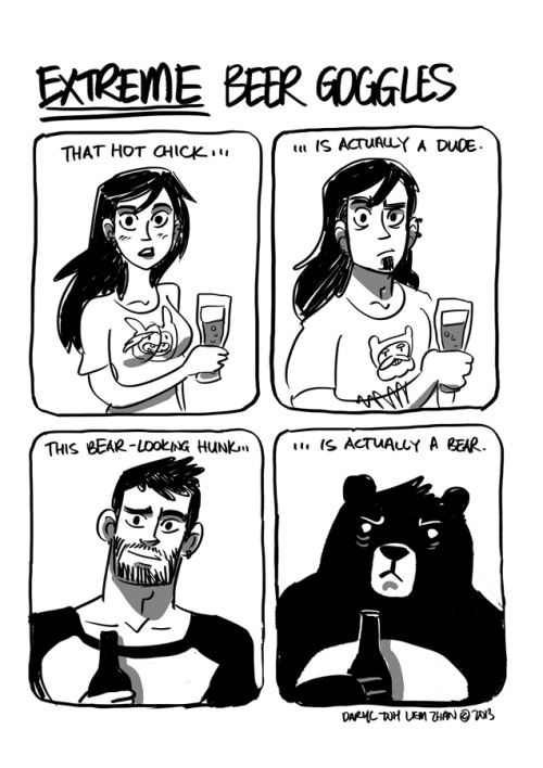 everydaycomics:  and that's why you should drink moderately.