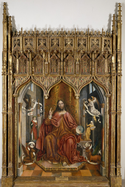 Fernando Gallego - Cristo Bendiciendo (Christ Blessing); Museo del Prado, Madrid, Spain; 1480