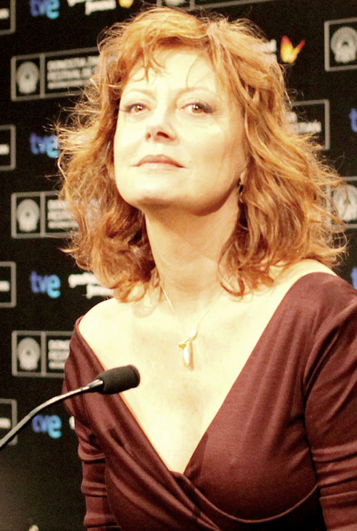 Susan Sarandon at the San Sebastian Film Festival, 2012