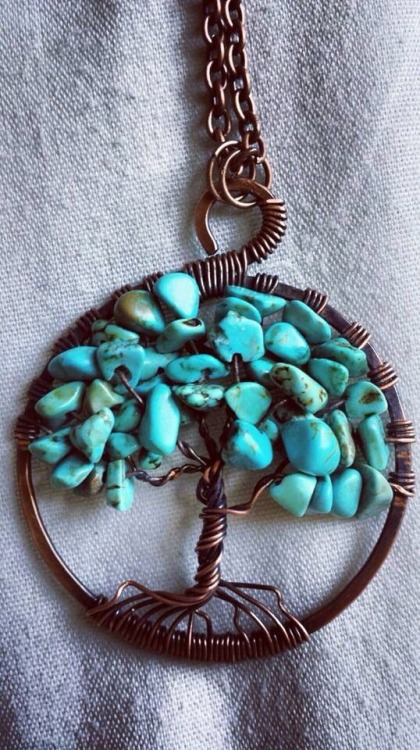 me mothers day gift handmade turquoise jewelry necklace DIY beautiful love