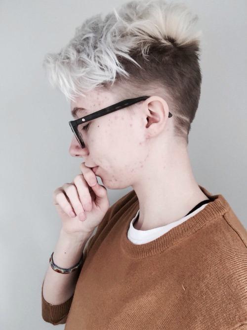genderqueer haircuts tumblr