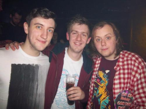 Actual shock nice photo of me from my birthday being with two of the nicest boys i've met. I know it was a big deal for Lyndsay for me to get on with these two. I have so much in common with the two of them and they are honestly the two nicest people so it's not surprising I did.