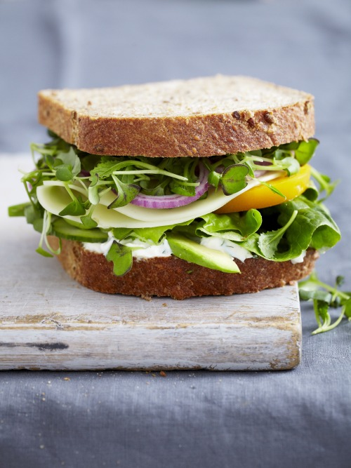 © Christina Holmes Vegetable Sandwich with Dill Sauce Recipe Contributed by Quick from Scratch Vegetable Main Dishes Click here for full recipe