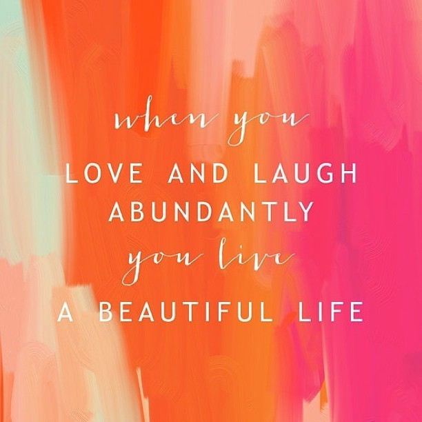 sueswink:  🍊Live a beautiful life… #inspiration✨