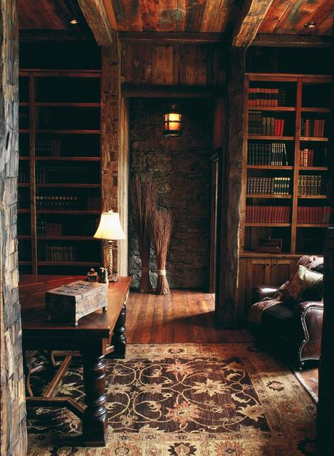 I could spend hours reading and listening to music in a room like this
