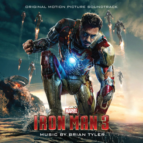 Track listing for Brian Tyler's Iron Man 3 score, set to be released on April 30th. 1. Iron Man 3  2. War Machine  3. Attack on 10880 Malibu Point   4. Isolation   5. Dive Bombers  6. New Beginnings  7. Extremis   8. Stark   9. Leverage   10. The Mandarin   11. Heat and Iron  12. Misfire  13. Culmination  14. The Mechanic  15. Hot Pepper  16. Another Lesson from Mandy  17. Dr. Wu  18. Return  19. Battle Finale  20. Can You Dig It(Iron Man 3 Main Titles)