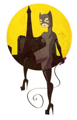 Catwoman in Paris  [ junio 2012 ]
