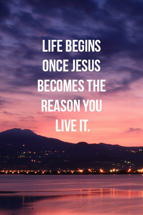 "spiritualinspiration:  When you receive Jesus Christ as your Lord and Savior, you are a new creation! You have a new spirit, a new walk, a new life! There may be ""old"" things in your life that you are trying to get rid of. Maybe you have old habits or addictions that you want to change. Remember today that the new has come. It's a new day with new opportunities, and it's time for you to be the new you. Let this be the day that you break old habits and addictions. Let this be the day that you move forward into a new life of victory. Let this be the day that you take hold of all the spiritual blessings the Lord has promised — peace, health, protection and victory. Be encouraged today because no matter what is happening in your life right now, you have a chance for a new beginning. Choose today to leave the old behind — old behaviors, old thinking, old words — and embrace the new by faith because this is your day to experience the new life that He has prepared for you!"
