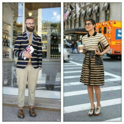 Imaginary couple:stripes