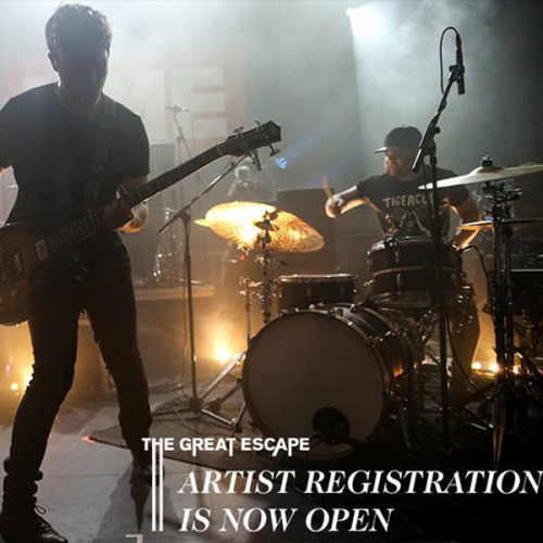 Calling all artists, the day is finally here…..  Artist Registration for The Great Escape 2015 is now officially open in partnership with Music Glue. If you are interested in submitting your act for consideration, all you have to do is register for free via Music Glue. All submissions will be reviewed by our team and those artists chosen to perform will be contacted directly over the coming months.   For more info on artist registration and to submit your artist for consideration to play on the TGE 15 line up CLICK HERE.