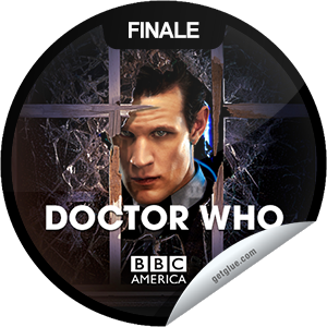 I just unlocked the Doctor Who: The Name of the Doctor sticker on GetGlue                      5283 others have also unlocked the Doctor Who: The Name of the Doctor sticker on GetGlue.com                  You're watching the Doctor Who season finale, The Name of the Doctor, presented by Supernatural Saturday, only on BBC America. Tonight, Clara is summoned to an impossible conference call, alerting her that the deadly Whisper Men are closing in on Vastra, Jenny and Strax. Someone is kidnapping the Doctor's friends, leading him toward the one place in all of time and space that he should never go. It's a deadly trap that threatens to unravel his past, present and future. Share this one proudly. It's from our friends at BBC America.