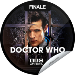 I just unlocked the Doctor Who: The Name of the Doctor sticker on GetGlue                      15132 others have also unlocked the Doctor Who: The Name of the Doctor sticker on GetGlue.com                  You're watching the Doctor Who season finale, The Name of the Doctor, presented by Supernatural Saturday, only on BBC America. Tonight, Clara is summoned to an impossible conference call, alerting her that the deadly Whisper Men are closing in on Vastra, Jenny and Strax. Someone is kidnapping the Doctor's friends, leading him toward the one place in all of time and space that he should never go. It's a deadly trap that threatens to unravel his past, present and future. Share this one proudly. It's from our friends at BBC America.