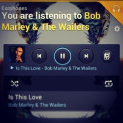 Perfect way to start my day… #BobMarley #Wailers #Reggae #PositiveVibrations #Rastafari