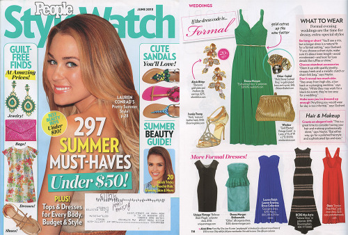 Featured in the June 2013 of People Style Watch, our Multi Stone Cocktail Ring($48). #fashion #summertrend #musthaves