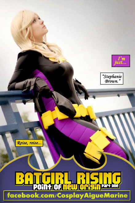 comicbookcosplay:  AigueMarine as Batgirl Submitted by lancelewis66