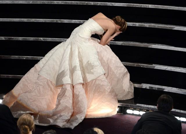 A graceful fall rather than a fall from grace - most gorgeous shot of the night.
