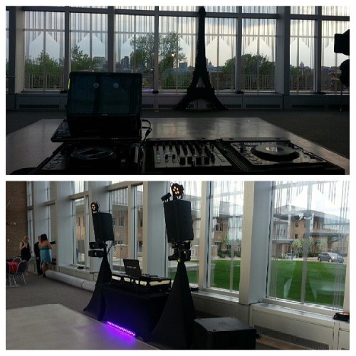 All set up for Washington's 2013 Prom (at Metropolitan State University)