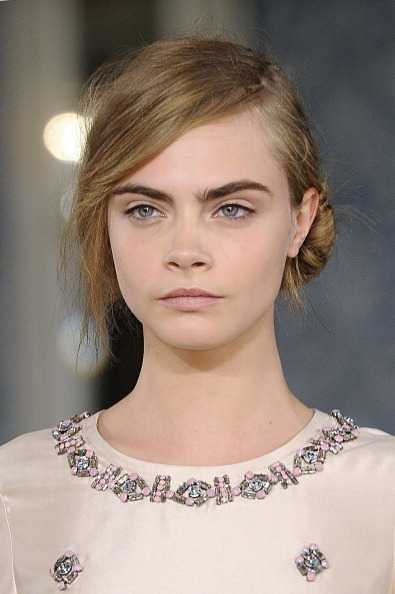 Cara Delevingne for Tory Burch Mercedes-Benz Fashion Week 12 February 2013