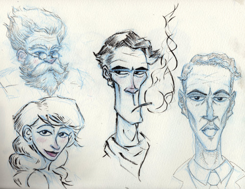 sketchbook faces.