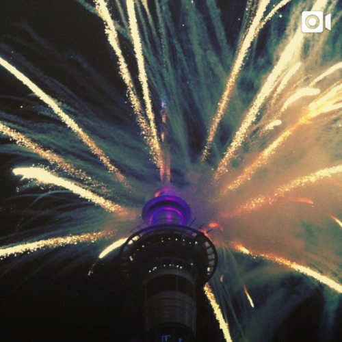 instagram:   Ringing in 2014 on Instagram To see more photos and videos from some of the biggest New Year's Eve celebrations around the world so far, check out the location pages for the Auckland Sky Tower, Sydney Opera House, Kuala Lumpur City Center Park and Victoria Harbour (維多利亞港). As the year draws to a close across the timezones, crowds are gathering around the world for firework displays and parties at some of the globe's most famous landmarks. Want to see photos and videos from New Year's Eve celebrations in your city? Try searching your city or landmark's name on Instagram with a hashtag in front of it (eg. #singapore or #timessquare). If you find a photo or video with a location tag, tap the blue text above the photo or video to see even more.