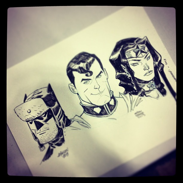 ericcanete:  Big 3 by @devilpig666, @spacejunkees and me.