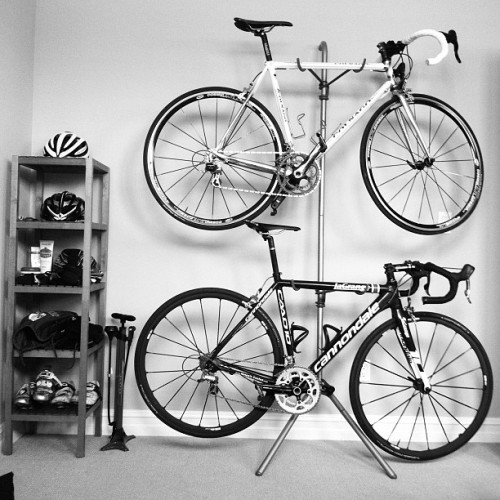 tuttoben:  the organization is complete. #bikela #colnago #cannondale